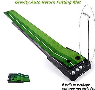 Locisne Juego de golf de interior al aire libre bola de la vuelta apuesta auto de la bola, tractor profesional mini práctica del golf que pone verde con la bandeja de vuelta 11.81