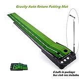 Locisne Interni Esterni Golf Set sfera di ritorno automatico Hazard Putting Mat, portatile...
