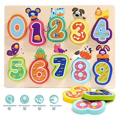Image of the TOP BRIGHT Puzzles Educational Toys for 1 Year Old Girl Boy Gifts and One Year Old Boy Learning Toys for Toddlers