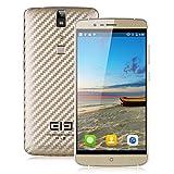 elephone P8000 - Smartphone Libre 4G LTE Android 5.1 (Octa Core, 5.5'' IPS FHD 1080P, RAM 3GB, 16GB ROM, Touch ID, 5/13MP Cámara, Dual SIM, WiFi, GPS) (Dorado)