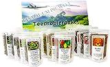 XXL Tee-Geschenk-Set großes Tee-Probierpaket 'Einmal um die Welt ' in aufregender, präsentfertiger...