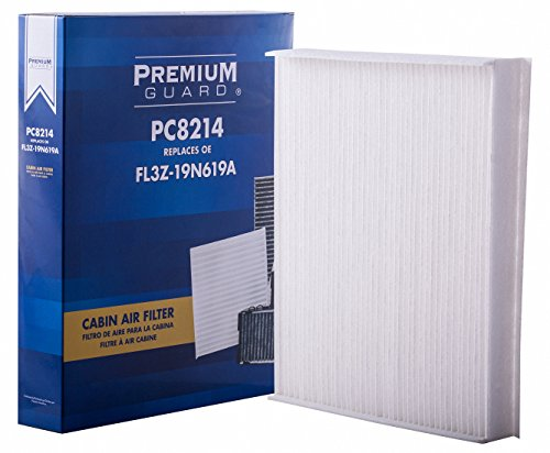 Price comparison product image PG Cabin Air Filter PC8214 / Fits 2015-20 Ford F-150,  2017-20 F-250 Super Duty,  F-350 Super Duty,  2018-20 Expedition,  2019-20 Lincoln Navigator,  2017-20 Ford F-450 Super Duty