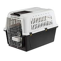 Dog carrier Lockable Draining mat Pulley handle 81x55.5x88cm
