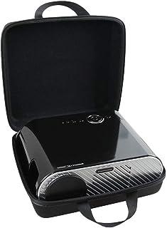 Hermitshell Hard EVA Travel Case Fits Ohderii Portable Projector/GooDee GD-600 HD Video Projector Outdoor Movie Projector