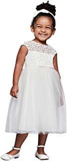 9900aae6d9441 Tulle Flower Girl/Communion Dress with Floral Embroidery Style WG1375