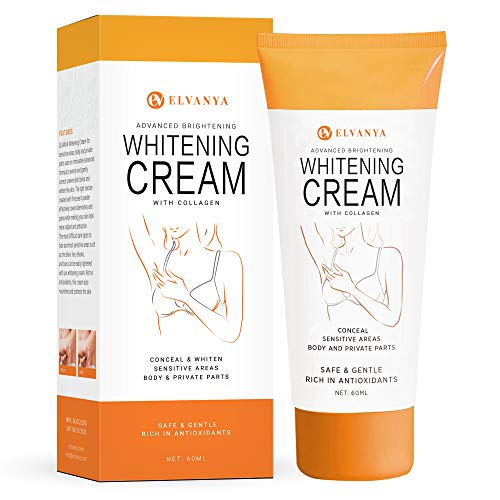 Underarm Cream - Effectively Brightening Cream - Brighten & Moisturizes Armpit, Neck, Knees, Private Parts - Body Moisturizer Intimate Skin Cream