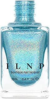 ILNP Aria - Sky Blue Ultra Holographic Nail Polish, Chip Resistant Manicure, Non-Toxic Nail Lacquer, Vegan, Cruelty Free, 12ml
