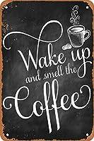 香りコーヒー金属壁サインレトロプラークポスターヴィンテージ鉄シート絵画装飾掛かるアートワーククラフトカフェビールバー