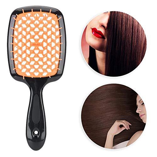 Brosse à cheveux, ménage Anti-statique Paddle Brosse à cheveux Voyage Portable Scalp Massage Peigne Detangler Brosse à cheveux Wet Brush Detangler Hair Styling Tool pour tous les types de cheveux(5 #)