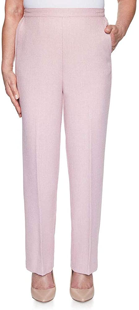 Alfred Dunner Women's Textured Proportioned Short Pant