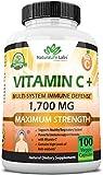Vitamin C 1,700 MG with Vitamin D3, Zinc,...