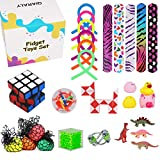 Sensory Fidget Toys 28 PCS Avoids Kids' Autism and Relieves The Stress and Anxiety of People-Birthday Party Special Discount Toy Combination, Carnival, Piñata Goodie Bag Stuffing Essentials-28Pcs