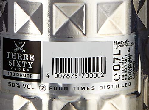 Three Sixty Vodka 100 Proof Wodka 50% vol (1 x 0.7 l) - 4