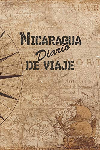 Nicaragua Diario De Viaje: 6x9 Diario de viaje I Libreta para listas de tareas I Regalo perfecto para tus vacaciones en Nicaragua
