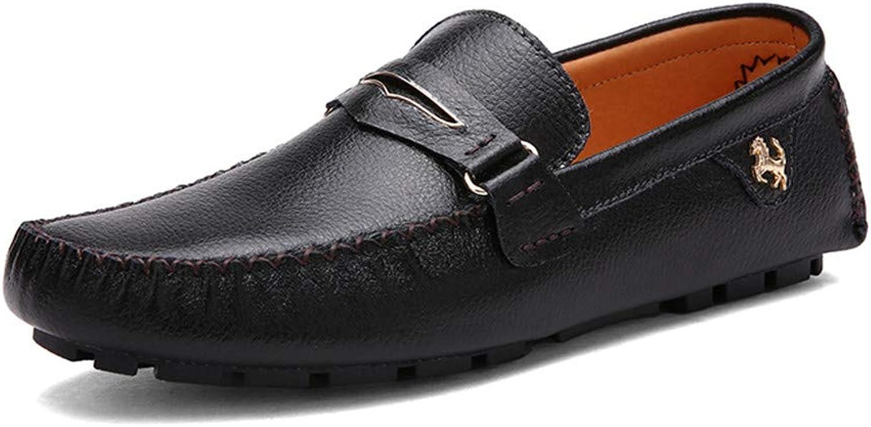 Herren-Schuh-Leder-Loafers Schuhe Schuhe Schuhe Bootsschuhe Faule Ro-Ty-Schuhe B07Q2C21F4  95b690
