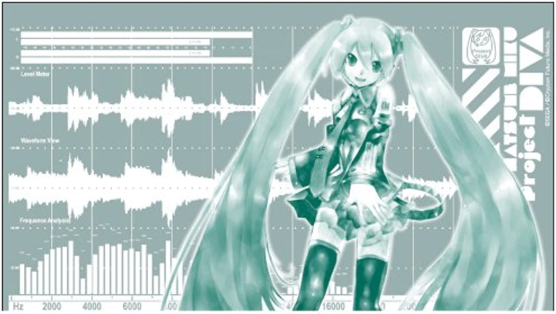 selección larga Hatsune Miku-Project DIVA-Miku waveform Glass (japan import) import) import)  bienvenido a elegir