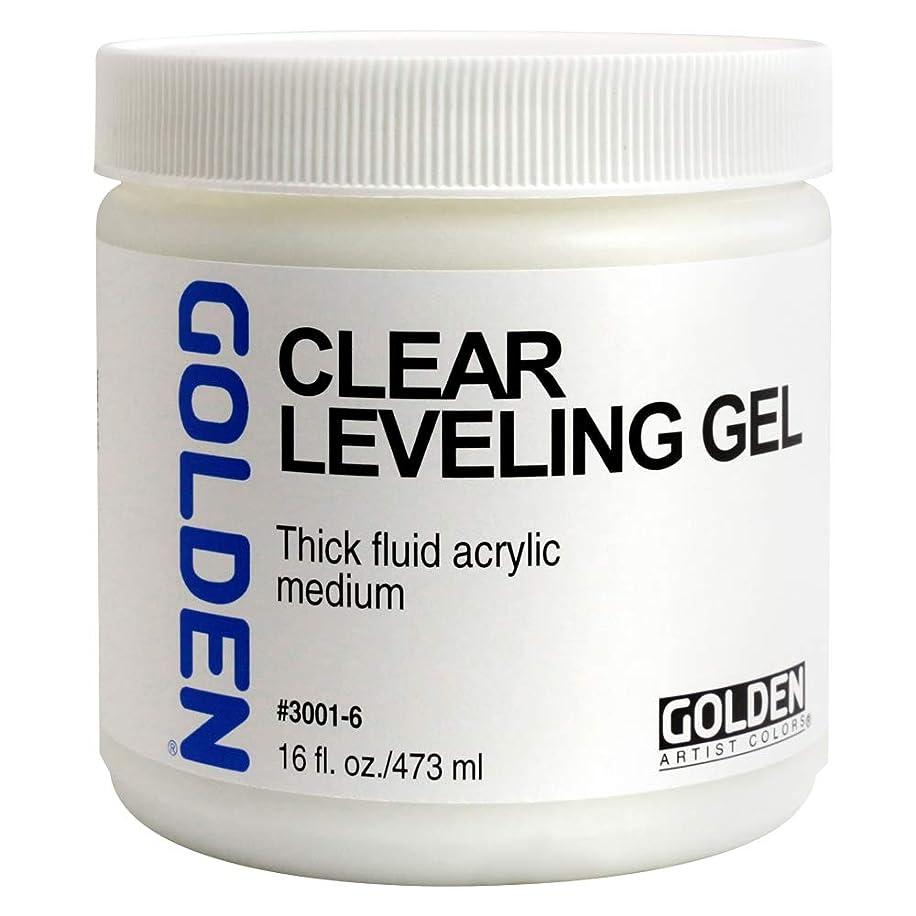 Golden Artist Colors - Self Leveling Clear Gel - 16 oz Jar