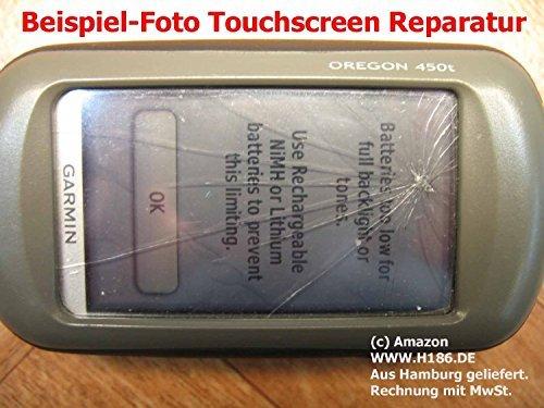 H186 REP_3 Kompatibel mit Display Garmin, Dakota 10 20, Oregon 200 300 400 450 550 Approach G3 G5 Rino 610 650 655 Touchscreen Reparatur Repair für Navigation System