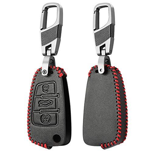 FMXKSW Caso Llave del Coche Car Styling Key Rings Cubierta de protección...