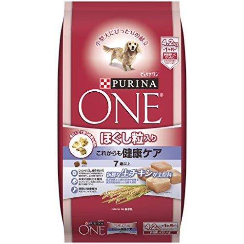 スマートマットライト ピュリナ ワン ピュリナ ワン シニア犬用(7歳以上) ほぐし粒入り これからも健康ケア チキン 4.2kg [ドッグフード]