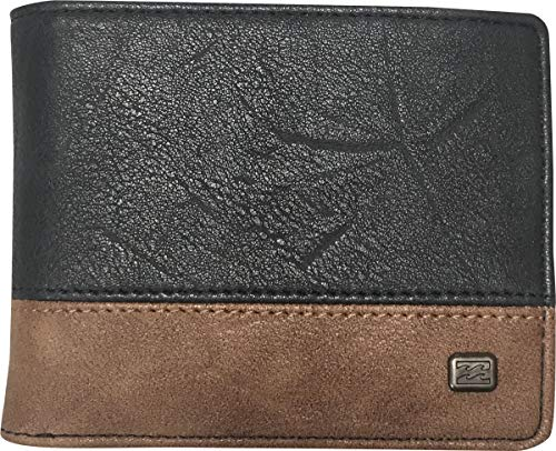 BILLABONG Dimensión para Men, Travel Accessory-Bi-Fold Wallet, (Azul Marino), One Size