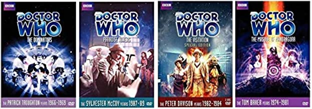 Doctor Who - Complete Collection DVD - The Masque Of Mandragora / The Visitation / Paradise Towers / The Dominators