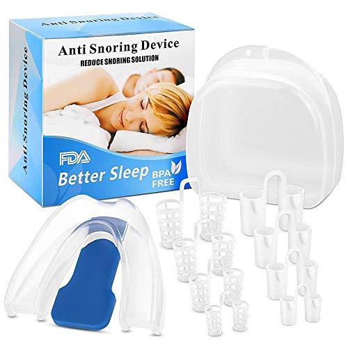 Anti Snore Devices Snore Stopper Mouthpiece - Anti Snoring Solution, Anti...