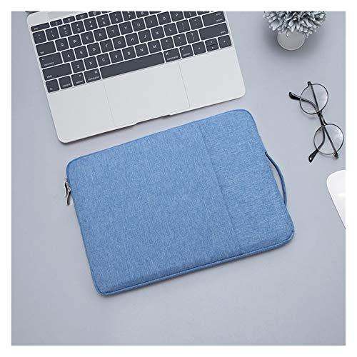 Caja Portátil Impermeable Portátil Manga del Cuaderno 13.3 14 15 15.6 Pulgadas para MacBook Pro Mujer Bolsa para HP Acer Xiami ASUS Lenovo (Color : Sky Blue, Size : 15 Inch)