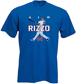 Pop Shop Apparel Blue Anthony Rizzo Chicago AIR HR New T-Shirt