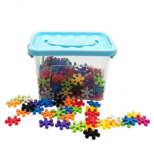 Detazhi Holzblock 220 stücke Kreative und pädagogische Spielzeug Bausteine Barrel der Aufbewahrungsbox Kinder (Farbe: Mehrfarbig, Größe: Freie Größe) (Color : Multicolored, Size : Free Size)