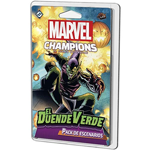 Fantasy Flight Games- Marvel Champions - El Duende Verde, Color (MC02ES)