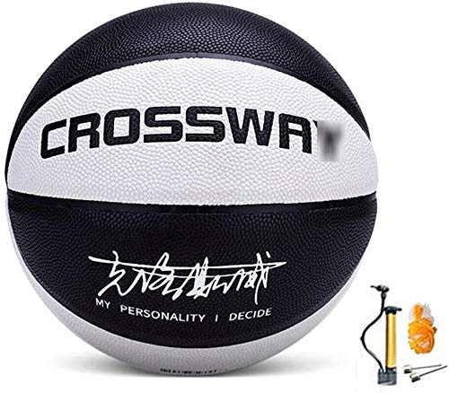 Amazing Deal ZHOU.D.1 Basketball- Street Basketball Indoor and Outdoor No. 5-6-7 Basketball with Pum...