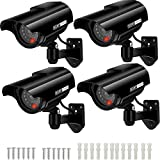 Cámara Falsa Cámara de vigilancia Falsa simulada con Bala Solar Cámara Domo CCTV de Seg...
