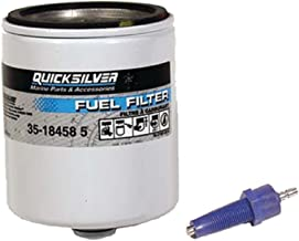 Mercury Quicksilver OEM Water Separating Fuel Filter w/Blue Sensor for All Mercury/Mariner V-6 EFI & Optimax Outboards 1996-Present Fast Priority Mail!