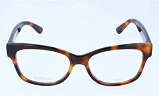 56.0 Wei/ß White MAX MARA Womens Brillengestelle Mm 1229 Optical Frames