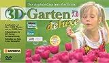 3D-Garten 7.0 Deluxe, 1 DVD-ROM Der digitale Gartenarchitekt. Für Windows 98 (SE), Me, 2000, XP -
