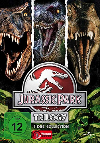 Jurassic Park - Trilogy [3 DVDs]