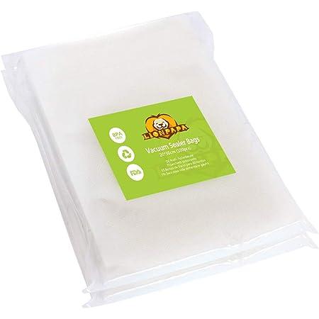 LIONPAPA Sacs De Scelleur Sous Vide, Sacs De Scellant Pour Aliments Sous Vide Lionpapa Sacs De Stockage De Nourriture Sans BPA 20 * 30cm (100pcs)
