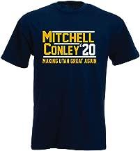 Shedd Shirts Navy Utah Mitchell Conley 2020 T-Shirt