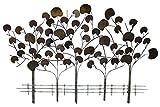 Escultura de pared de metal extravagante 'Serenade der Bäume' 72 x 117 x 6 cm  ...