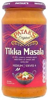 Pataks Tikka Masala Sauce 500 g (Pack of 6) (B003UMKT7E) | Amazon price tracker / tracking, Amazon price history charts, Amazon price watches, Amazon price drop alerts