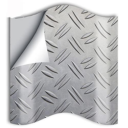 25 unids restaurante decoración cocina azulejo pegatina PVC decoración de pared pegatina placa de acero hecha por el hombre impermeable baño baño pegatina 15 cm
