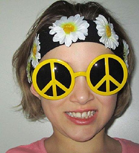 Mondial-fete - Bandeau Hippie à Fleurs