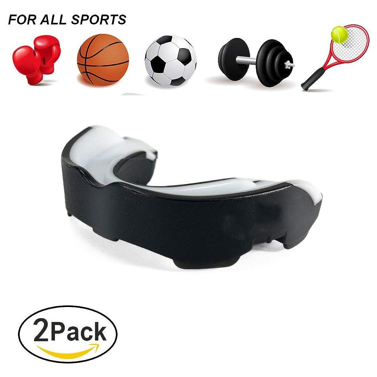 マニアック鋼うめき声スポーツ用マウスピース,大人の青少年のフットボールのバスケットボールのための衝撃吸収性の摩耗のゲルの口頭保護影響のマスク