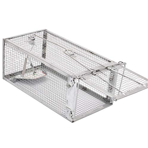 Kensizer Large Animal Humane Live Cage Trap That Work for Rat Mouse Chipmunk Mice Voles Hamsters Possum and Other Rodents, Trampa para Ratones, Catch and Release