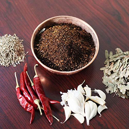 Chinta Iguru Karam Podi / Tender Tamarind Leaves Breakfast Podi (Home Made Andhra Style)