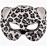 amscan 365677 Black Leopard Costume Child Mask, 1ct