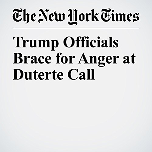 Trump Officials Brace for Anger at Duterte Call copertina