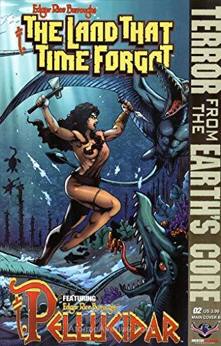 Land That Time Forgot/Pellucidar, The (Edgar Rice Burroughs') #2B VF/NM ; American Mythology comic book