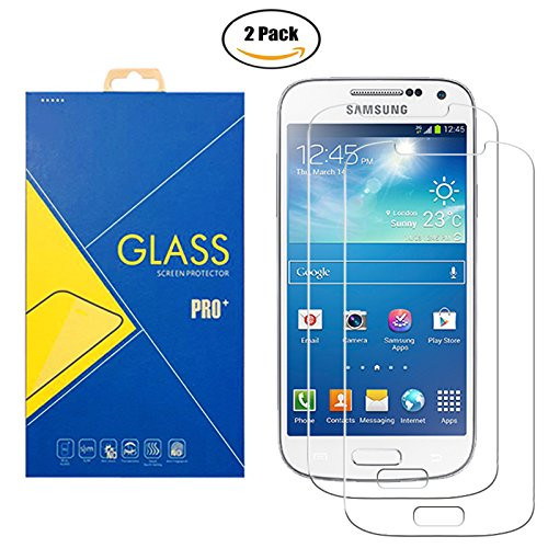 [2 Pack] Panzerglas Schutzfolie Samsung Galaxy S4 GT-i9500 / i9505 / i9506 / 9500 / 9505 / 9506 – Gehärtetem Glas Schutzfolie Displayschutzfolie für Samsung Galaxy S4 GT-i9500 / i9505 / i9506 / 9500